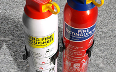 Secure One Home and Business Security Fire Extinguishers