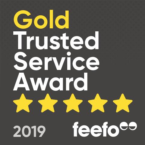 Secure One Feefo Award Logo